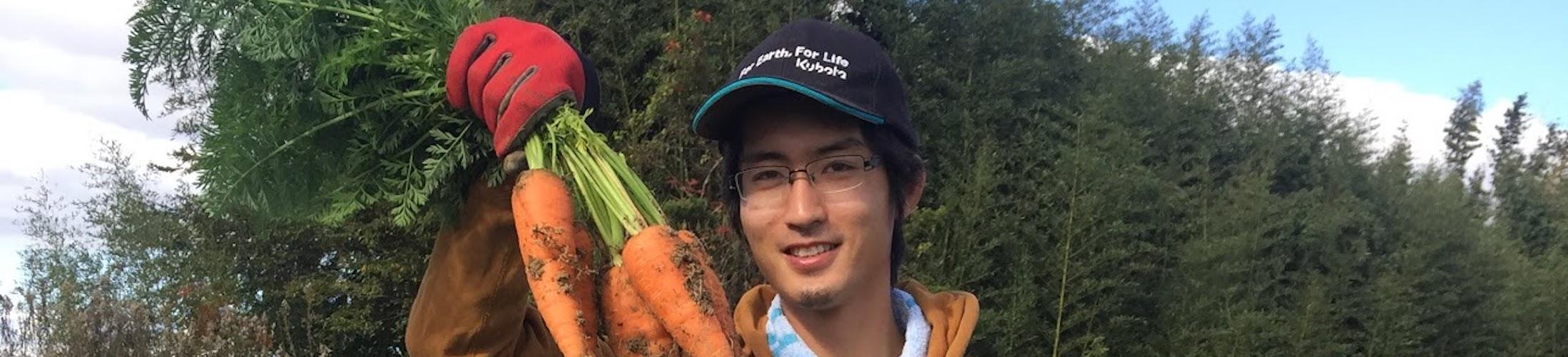 家庭菜園で立派な野菜をゼロから作る
